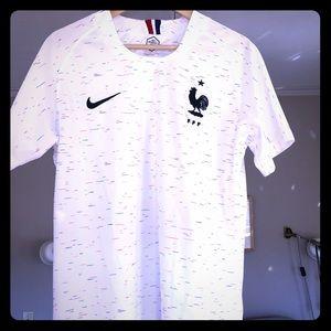 France National Team 2018 World Cup Jersey Medium